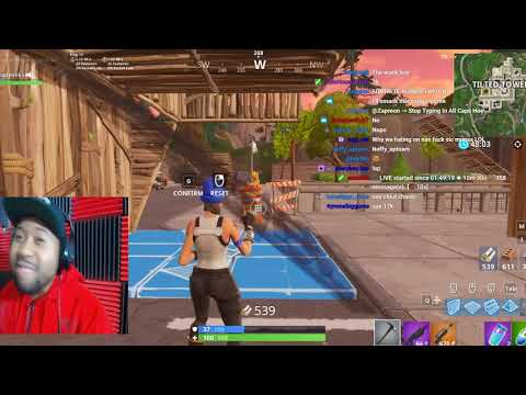 DJ Akademiks Plays Fortnite W/ Nav, TSM Daequan, and Faze Replays