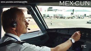 Airbus A320 HD Cockpit Mexico City - Cancun / Cabina de Pilotos Interjet