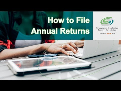 How To File Annual Returns