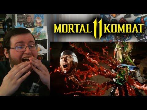 Gors Mortal Kombat 11 Shao Kahn Reveal Trailer REACTION (MY BOY!!!)
