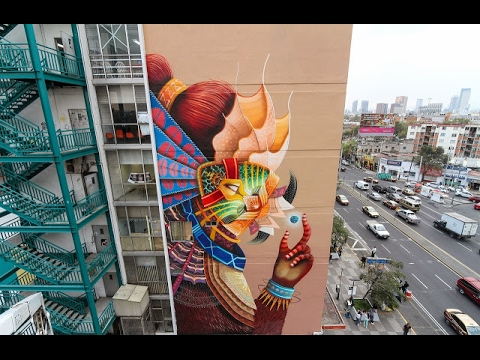Mexican Street Art - Interview w/ Roberto Shimizu Curator and Promoter of MUJAM in Mexico City