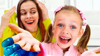 Slime - Children Song by Maya and Mary