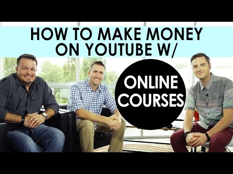 How To Make Money On YouTube With Online Courses