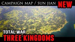 Total War: 3 Kingdoms - Campaign Map and Sun Jian (Trailer Analysis)