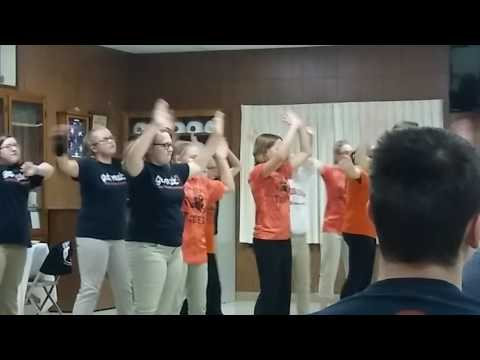 Dancing Queen....Catherine's Show Choir group