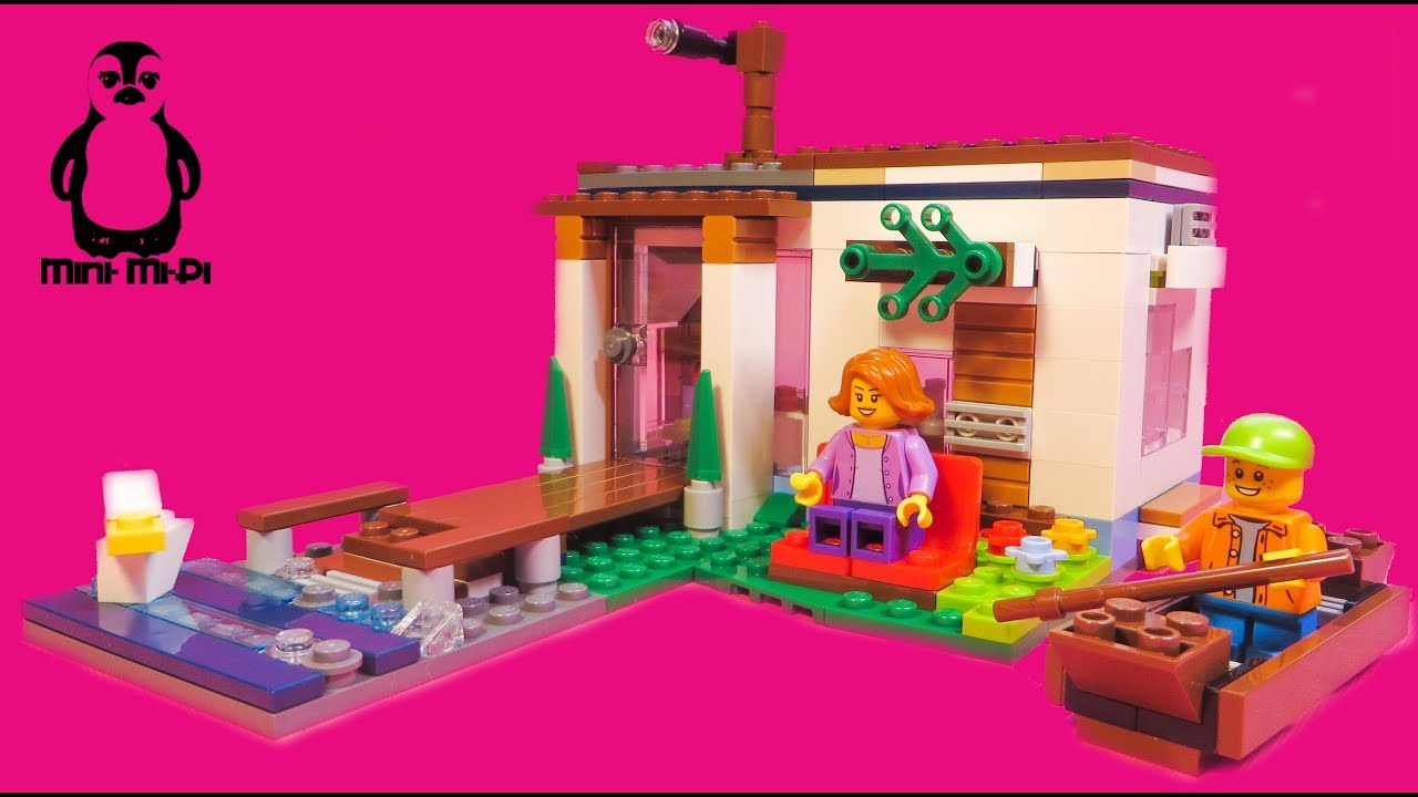 LEGO® Creator 31068 Modernes Zuhause | Modular Modern Home | #2 ...