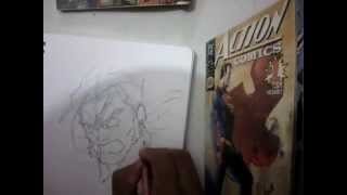 HOW TO DRAW SABERTOOTH FROM X-MEN