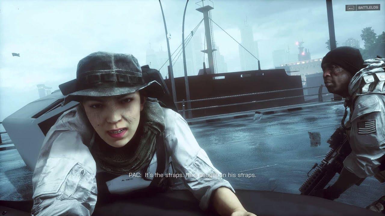 Download Battlefield 4 Bridge Scene [1080p]