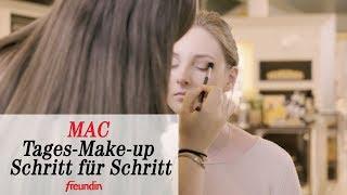 Schönes MAC-Tages-Make-up Schritt für Schritt