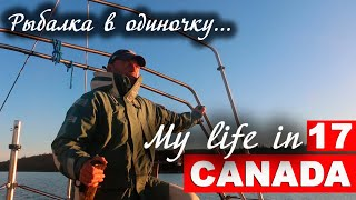 Рыбалка с яхты в одиночку