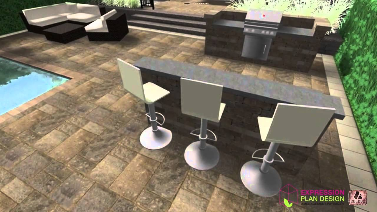 am nagement bbq avec lot youtube. Black Bedroom Furniture Sets. Home Design Ideas