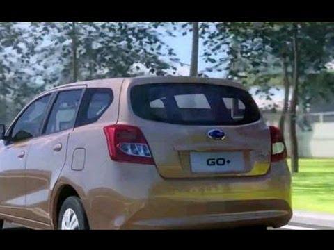 Datsun Go+ Exterior Interior Video Indonesia MVP & Hatcback Type