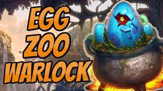How to be greedy? | Egg Cauldron Zoo Warlock | Hearthstone