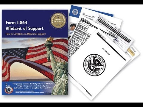 Part 2 Form I- 864 Information on the principal immigrant