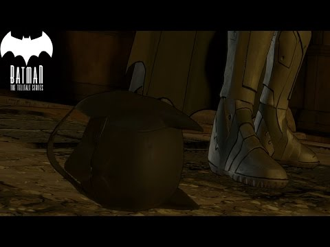 Batman The Telltale Series Episode 5 Removes Cowl (Choice)