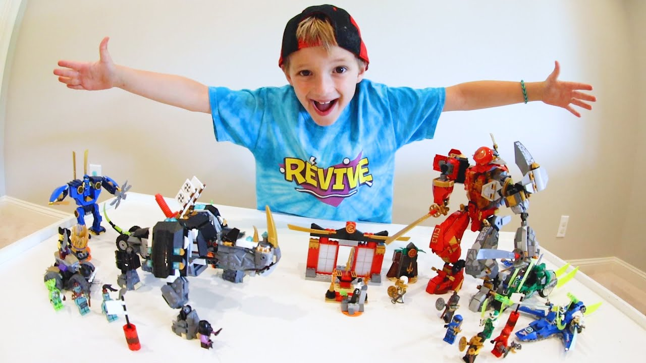 FATHER SON ULTIMATE LEGO BATTLE! / Ninjago Good Vs Bad