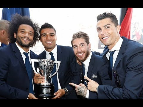 Реал Чемпион, Месси - король. Барселона поздравила Реал с чемпионством 2017