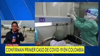 Coronavirus en Colombia, primer caso de COVID-19 confirmado en Bogotá