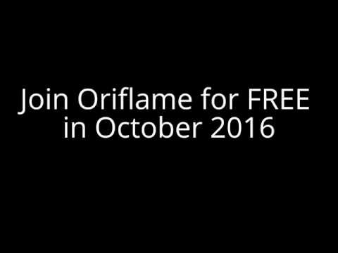 Join Oriflame for FREE in October 2016