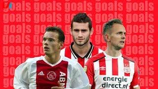 De Mooiste Goals Bij Ajax-PSV: Lens, Suárez, De Jong, Sneijder En Meer!