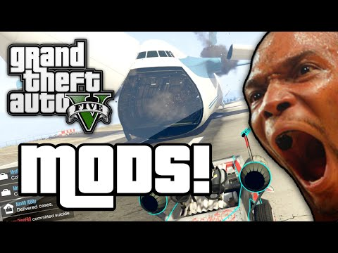GTA V: MODDED MISSION! (GTA 5 Next Gen...
