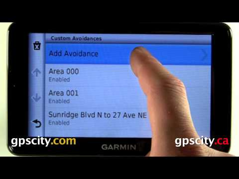 Navigation Settings In The Garmin Nuvi 2555 And Nuvi 2595 With GPS City