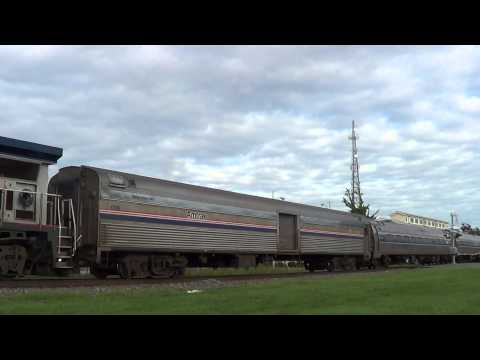 Rare In NC! Amtrak B32-8WH #514 on the Carolinian