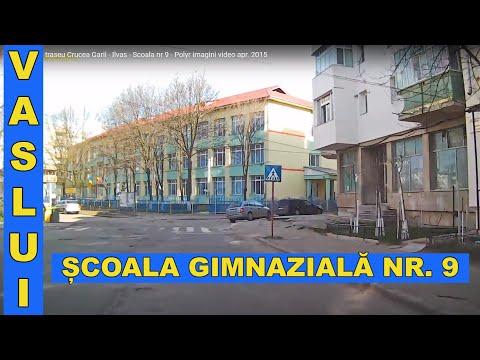 Trafic auto în orașul Vaslui (Crucea Gării - ICIL - Polir) aprilie 2015.