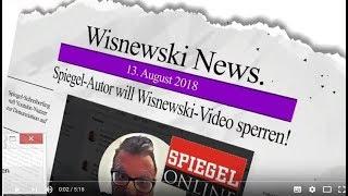 Spiegel-Autor will Wisnewski-Video sperren lassen!