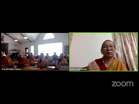 """09 """"Illumination of the Thought"""" with Geshe Yeshi Lhundup: Outshining Hearers & S Realizers 10-27-20"""