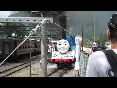 the real Thomas runs in Shizuoka, Japan