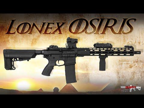 [Review] Lonex OSIRIS (Begadi CORE EFCS) 6mm S-AEG Airsoft/Softair Test (German,DE)