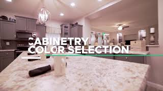 Commodore Homes of Indiana Cabinetry Selections