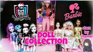 Monster High And Barbie / Doll Collection