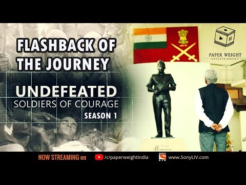 Flashback of the Journey: Season 1 | Undefeated: Soldiers of Courage | a Web Series on Indian Army