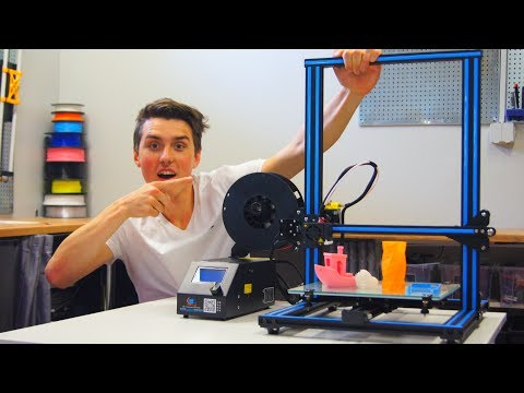 Creality CR-10 Full Review - BEST 3D PRINTER!!!