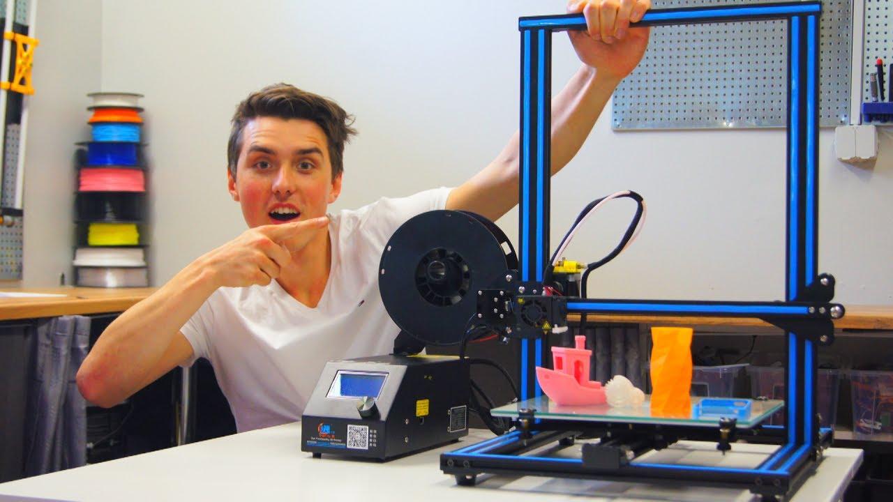 Creality CR-10 Full Review - BEST 3D PRINTER!!!