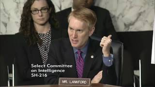 Senator Lankford Questions Officials at Intel Hearing on Russian Interference in US Election