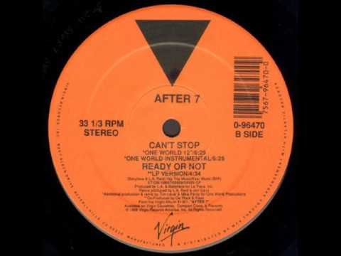 "After 7 - Can't Stop (One World 12"")"