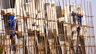 #2 Rusztowania z Bambusa w Jednym z Najbogatszych Miast Na Świecie.