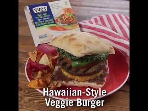 Yves Veggie Cuisine Hawaiian Veggie Burger