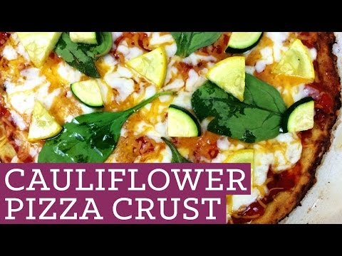 Cauliflower Pizza Crust - Healthy Dough Recipe - Mind Over Munch Episode 18