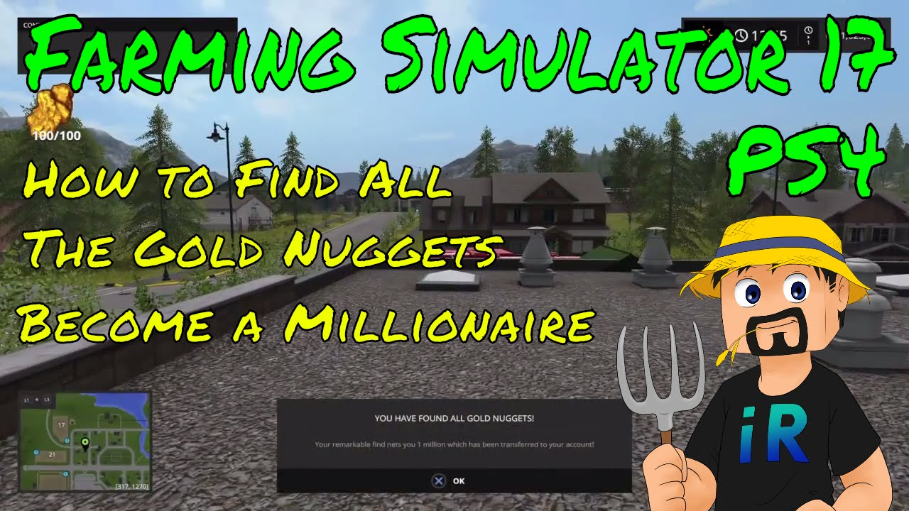 How To Find All Gold Nuggets Become A Millionaire