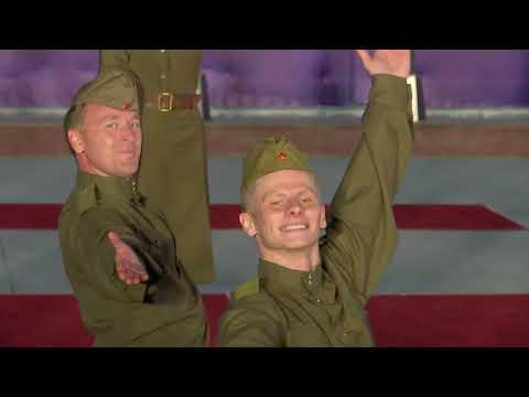 Ансамбль песни и пляски ЗВО в Китае. Выступление в военном учреждение