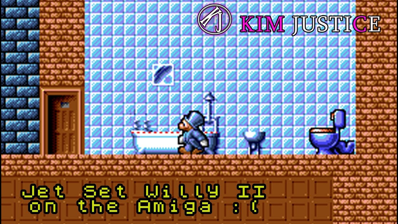 Jet Set Willy II on the Amiga is Utterly Wretched and Bad | Kim Justice (Twitch Highlights)