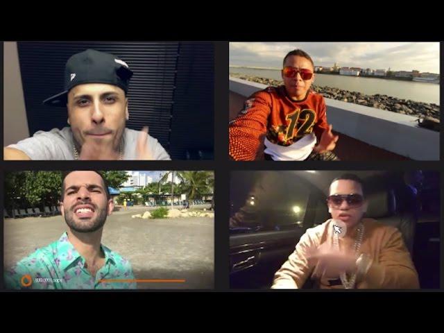 Una Cita Remix - Alkilados (VideoSelfie Oficial) Ft. Nicky Jam, J. Alvarez & Roockie