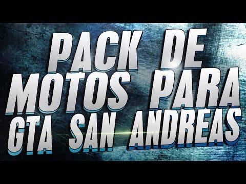 PACK DE MOTOS PARA GTA SAN ANDREAS 2017 | TODO PARA PC | MEGA |