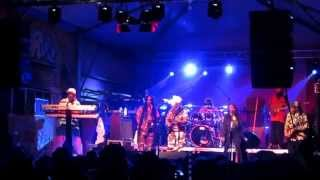 Macka Splaff Steel Pulse live in Rome