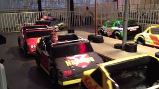 Stock Car Racing at Night - Wonderland Pier - Ocean City NJ
