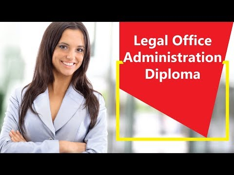 Legal Office Administration Diploma - Video Training Course | John Academy